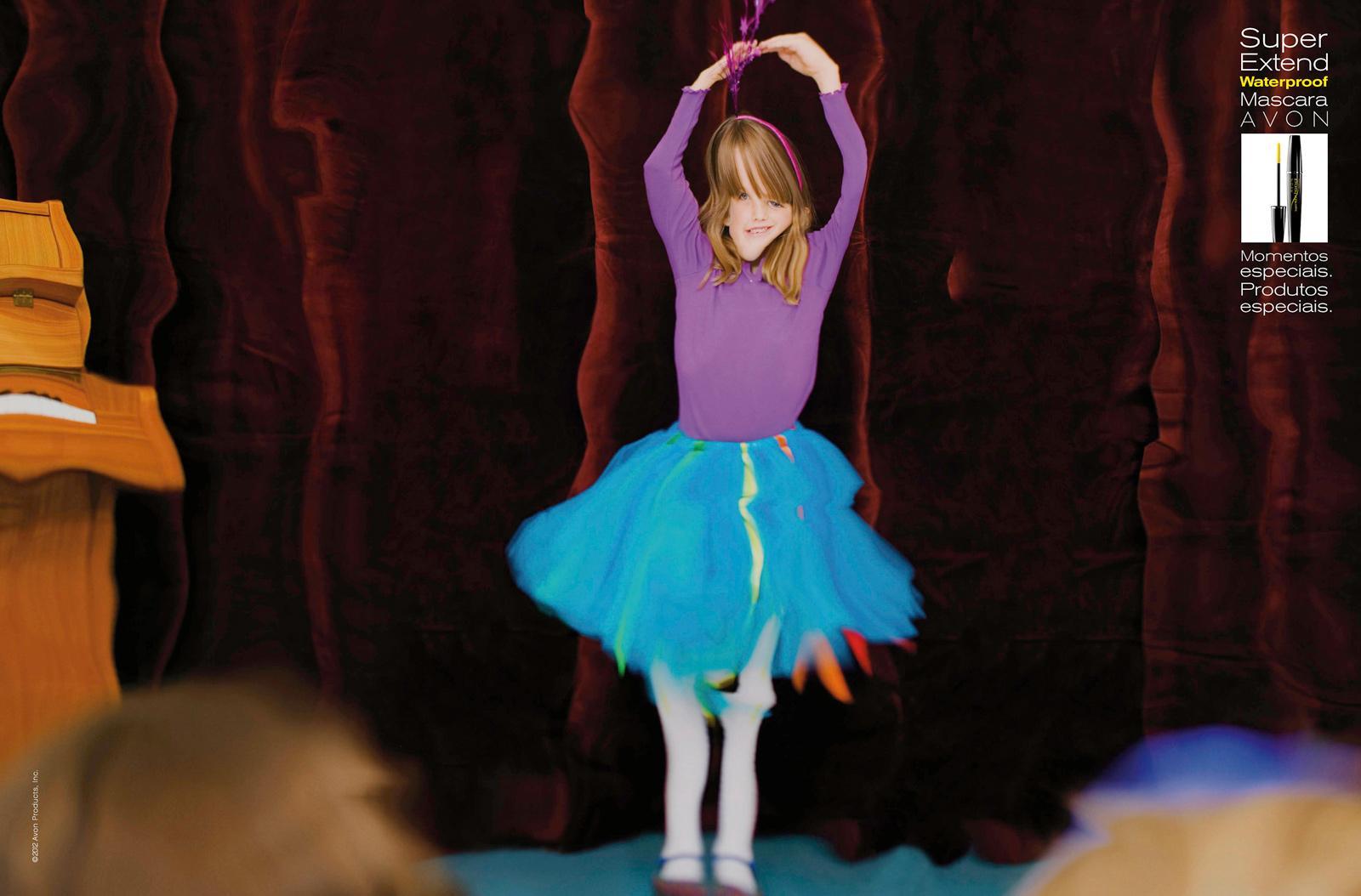Avon Print Ad -  Ballet