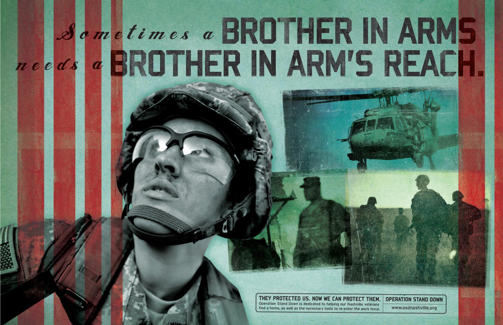 Operation Stand Down Print Ad -  Brother