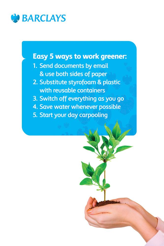 Barclays Print Ad -  Ecology
