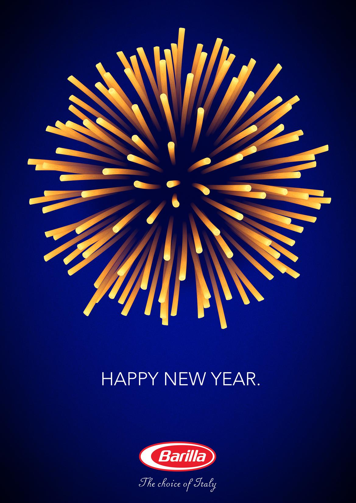 Barilla Print Ad -  Happy new year