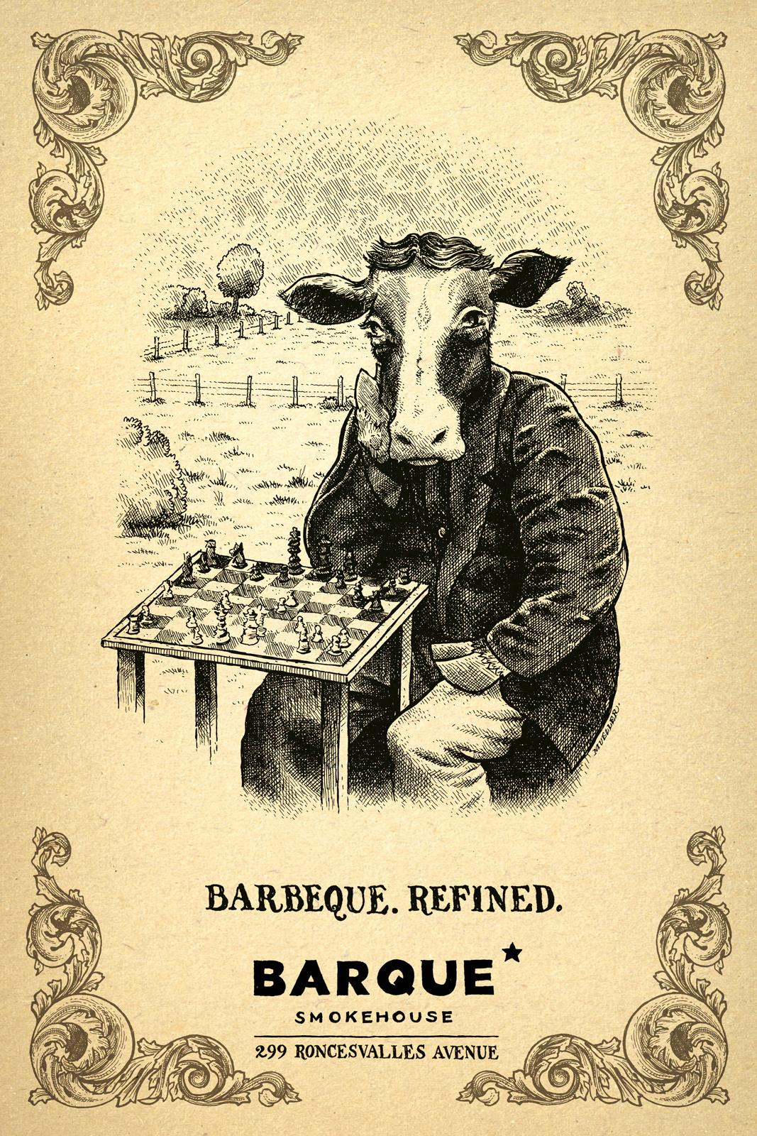 Barque Smokehouse Print Ad -  Beef