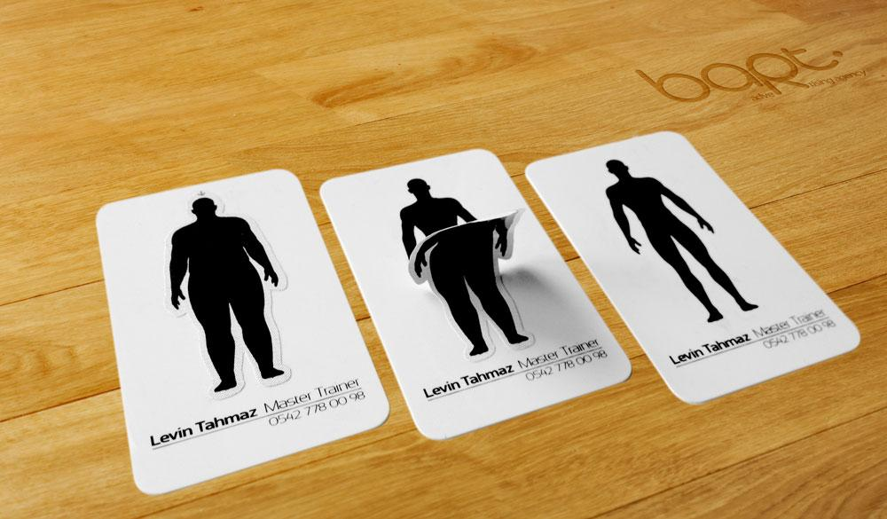 Levin Tahmaz Direct Ad -  Business card