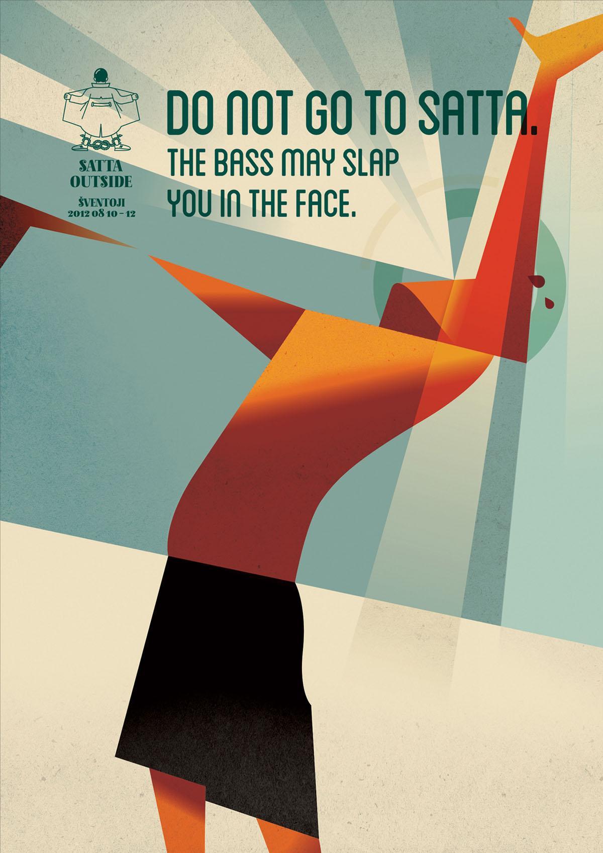 Satta Outside Festival Outdoor Ad -  Bass