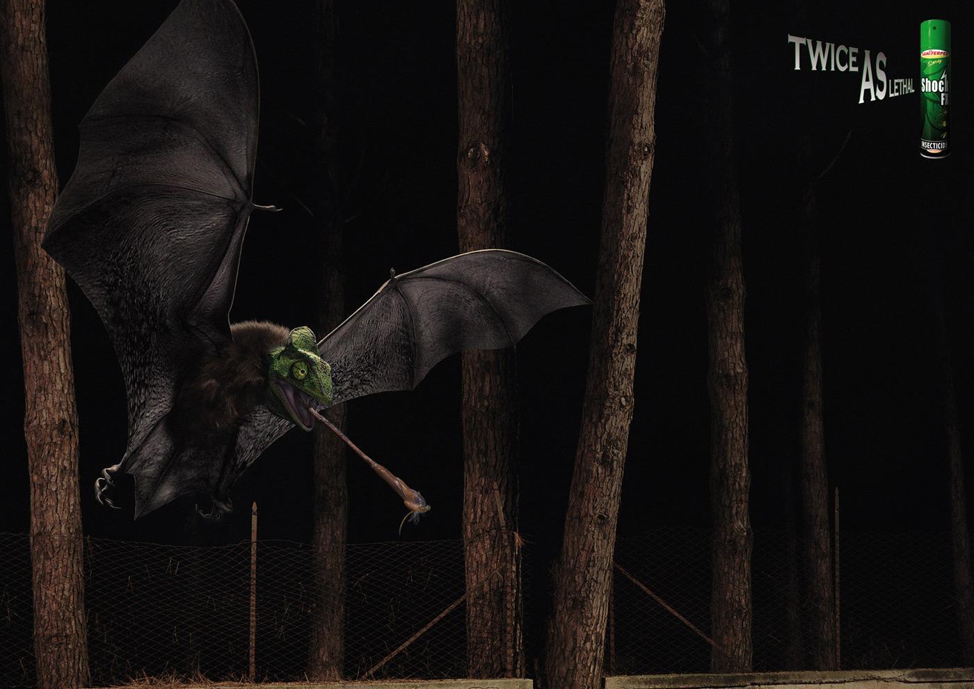 Shock FX Print Ad -  Batchameleon