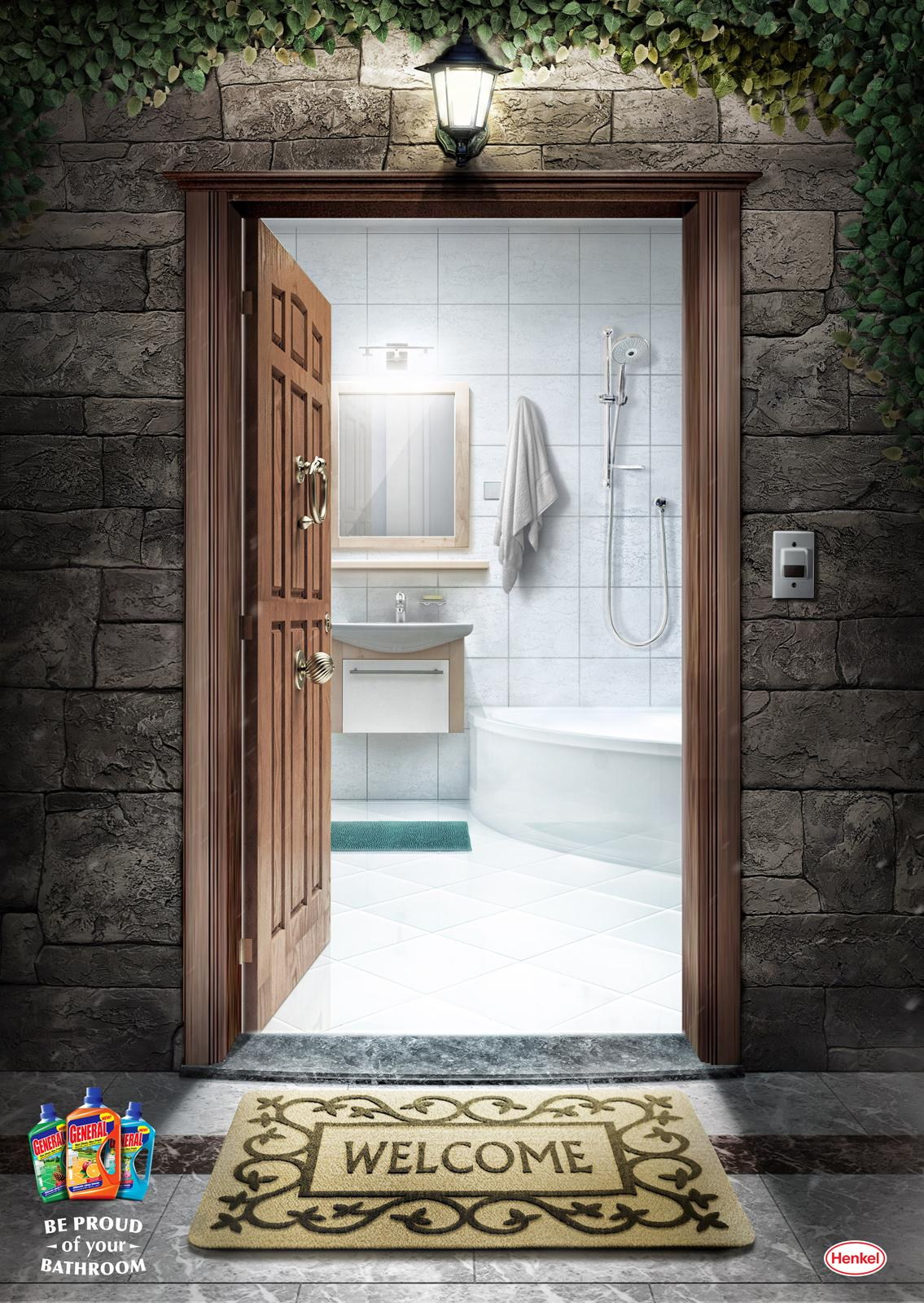 Henkel Print Ad -  Bathroom