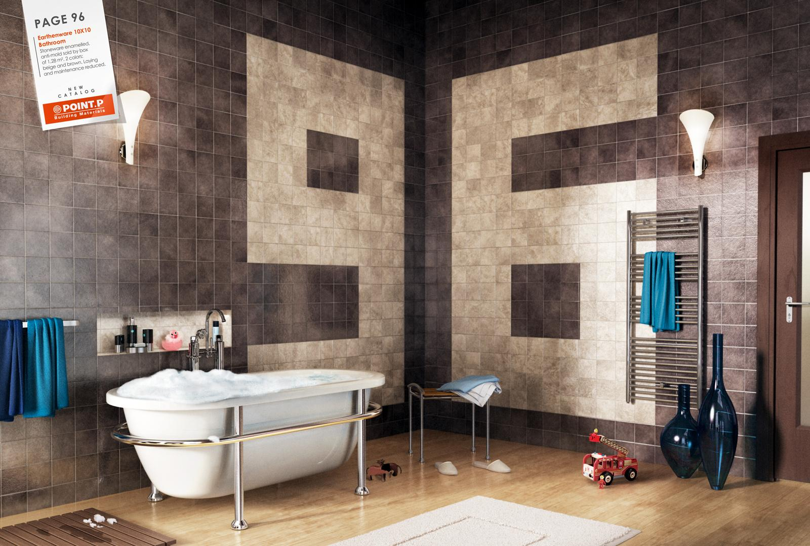 Point P Print Ad -  Bathroom