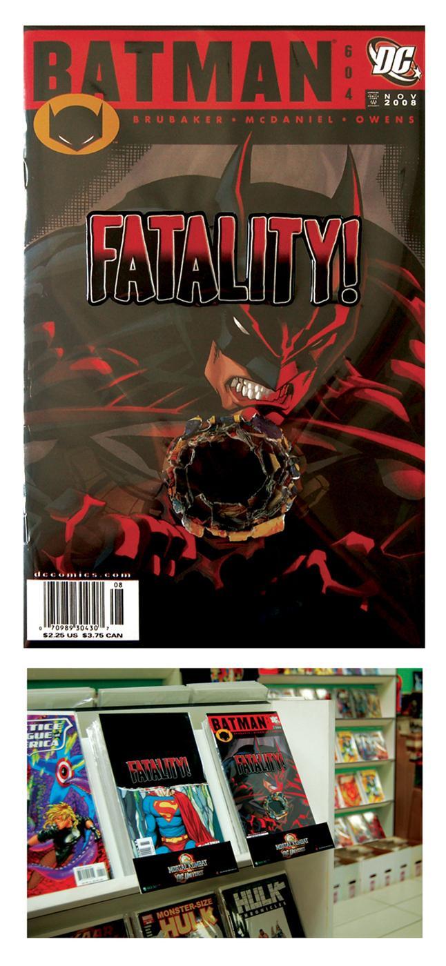 Mortal Kombat Direct Ad -  Batman