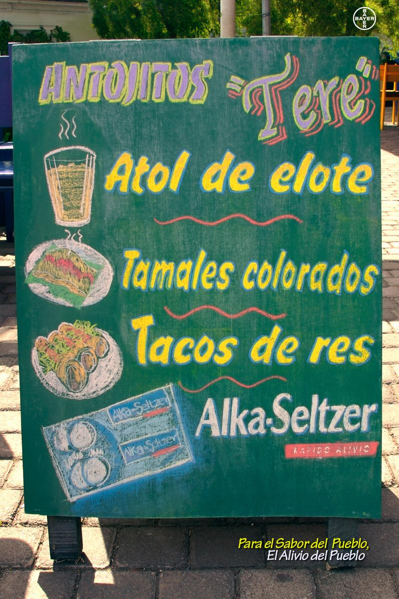Alka Seltzer Outdoor Ad -  Board, 1