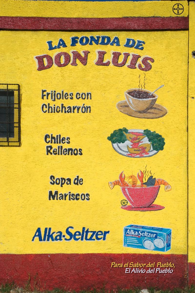 Alka Seltzer Outdoor Ad -  Board, 2