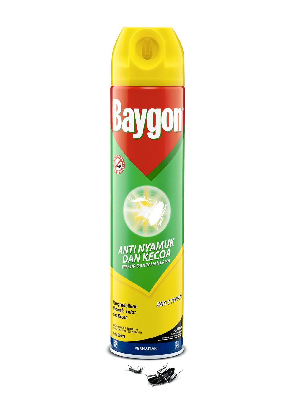 Baygon Print Ad -  Peel off