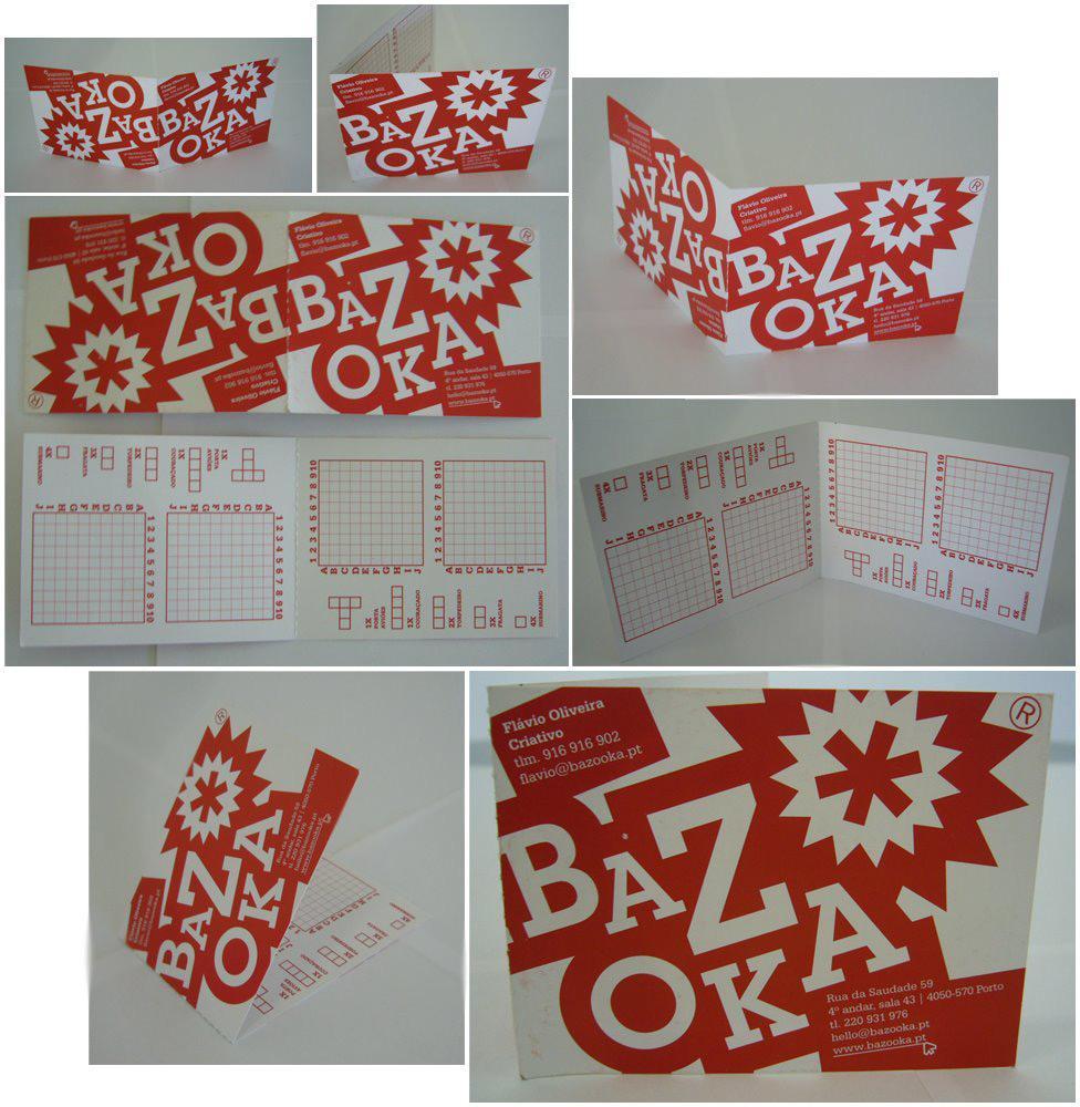 Bazooka Direct Ad -  Business card