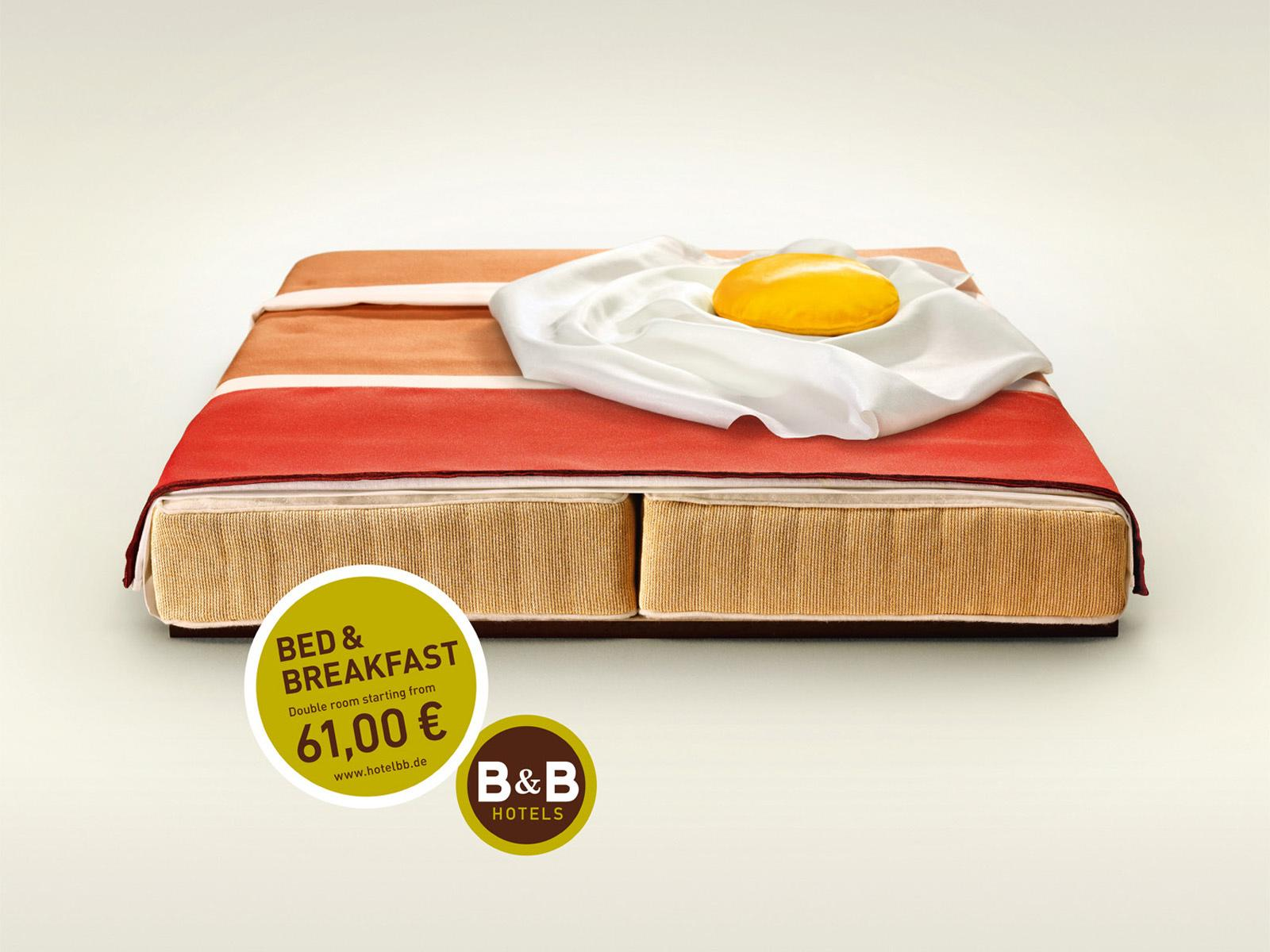B&B Hotels Print Ad -  Bacon