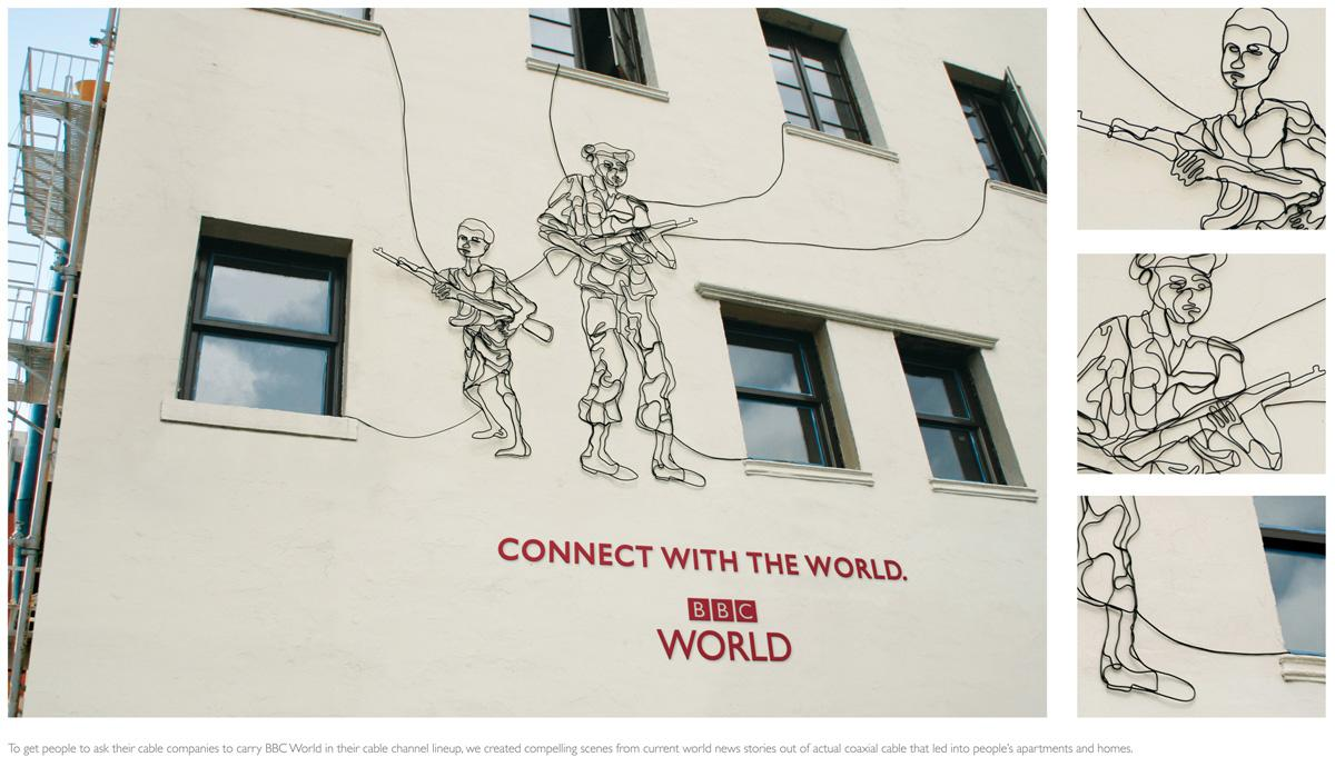 BBC Ambient Ad -  Connect with the world, 3