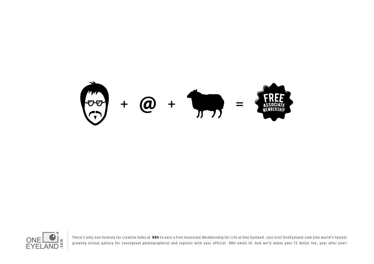 One Eyeland Print Ad -  The Formula, BBH