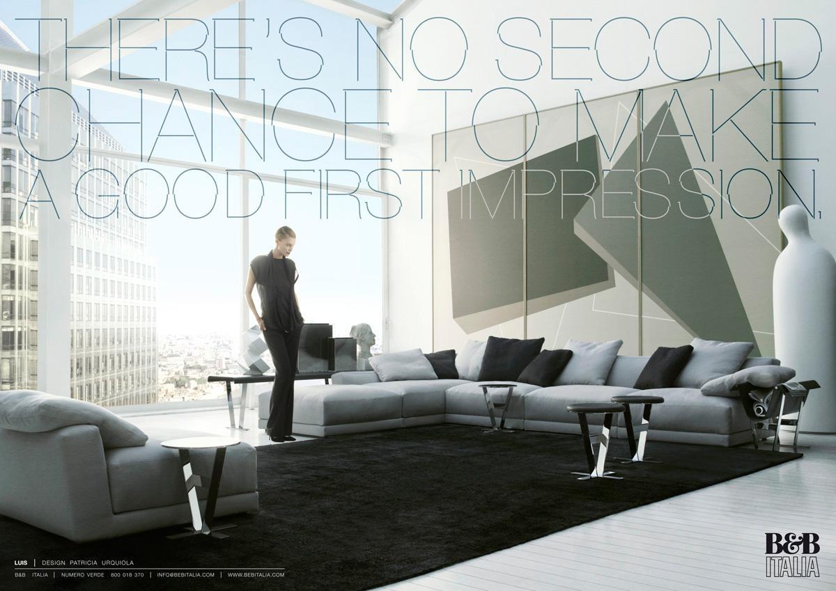 B b italia print advert by saatchi saatchi luis ads for B6b italia