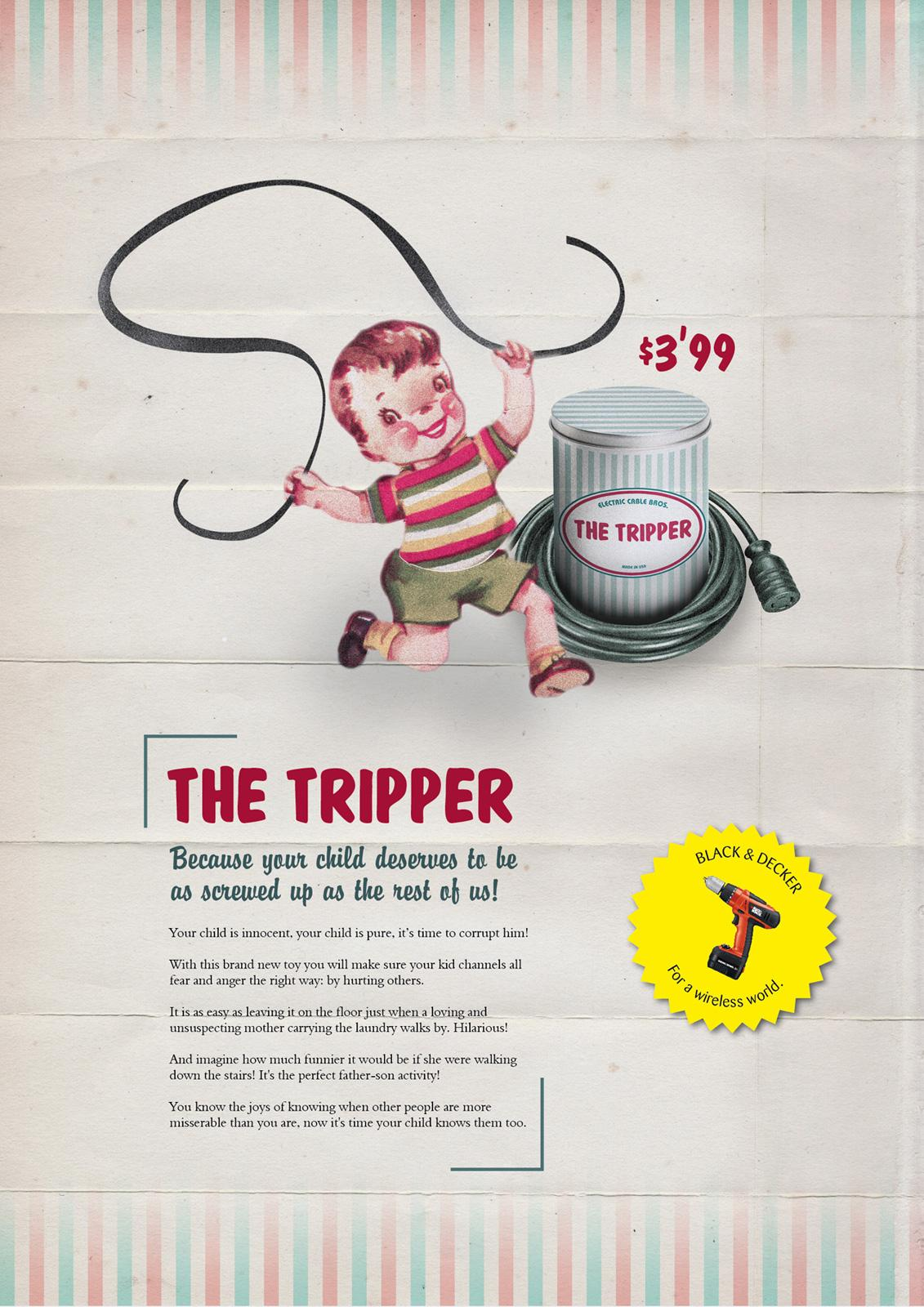 Black&Decker Print Ad -  Wireless, 3