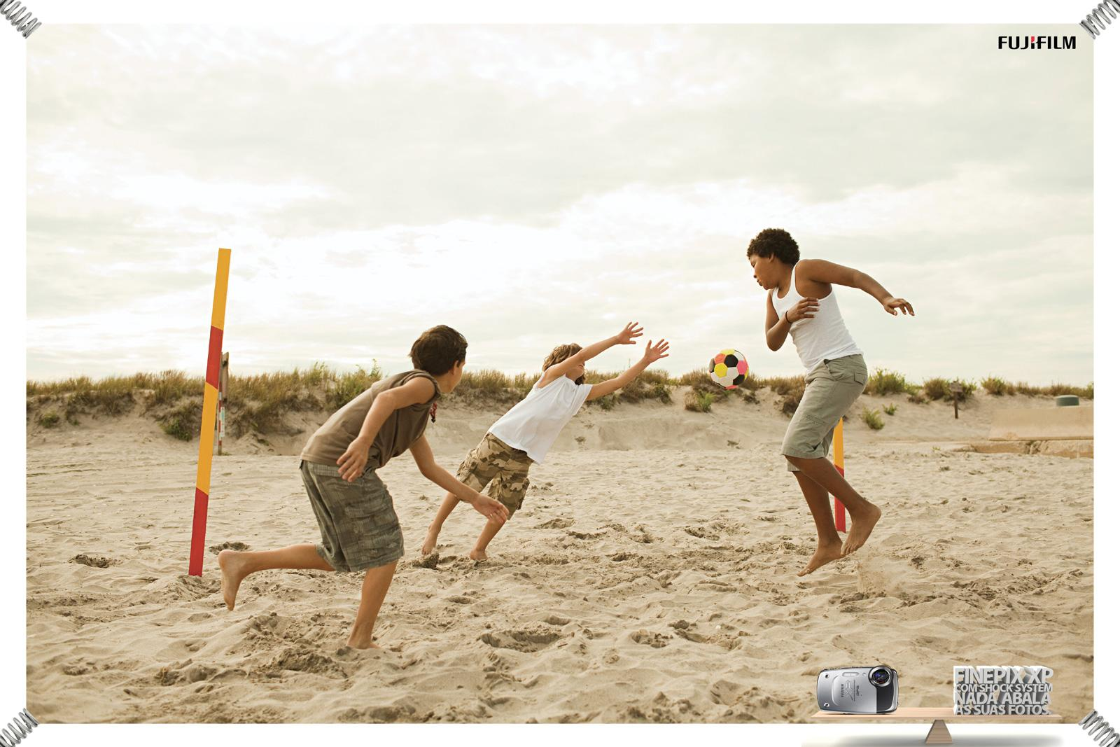Fuji Print Ad -  Beach, 1