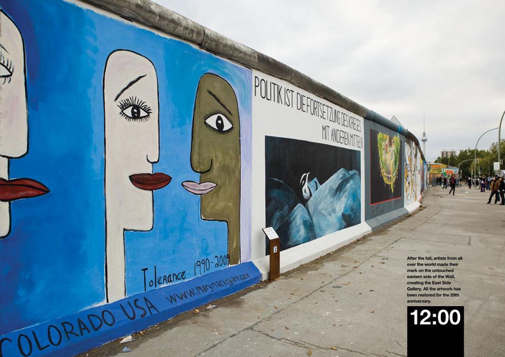 Beck's Print Ad -  Wall