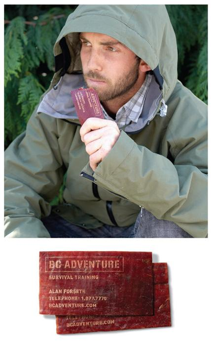 BC Adventure Direct Ad -  Business Card