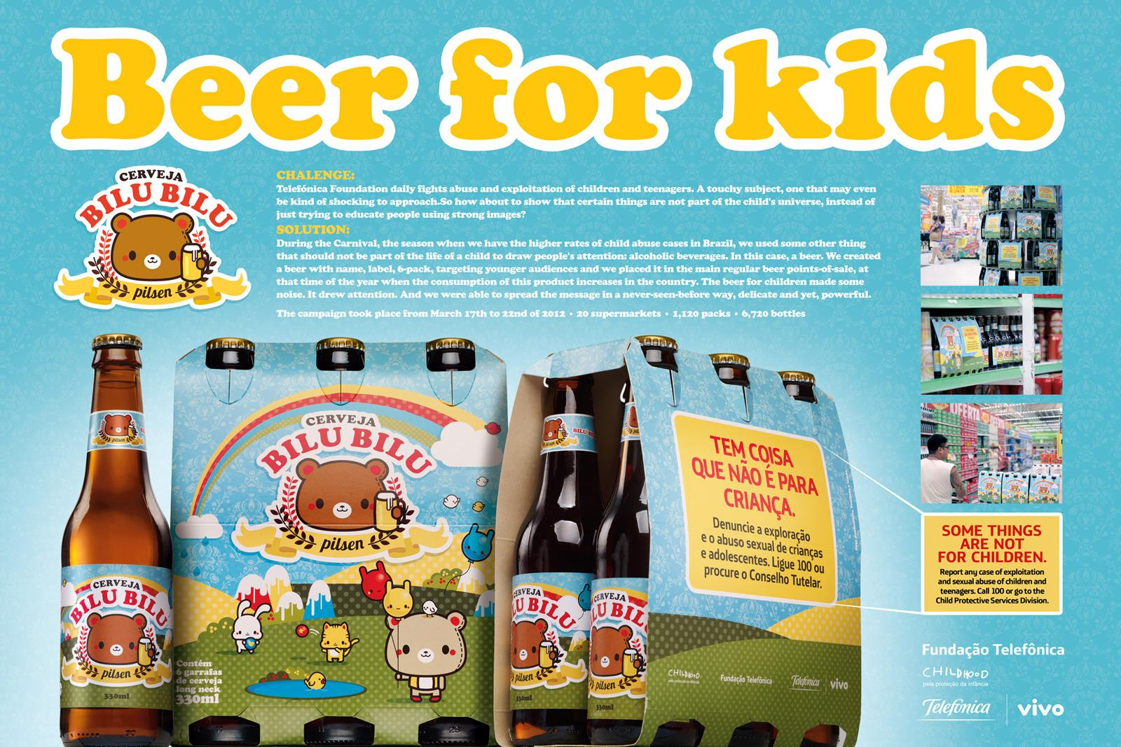 Telefónica Direct Ad -  Beer for kids