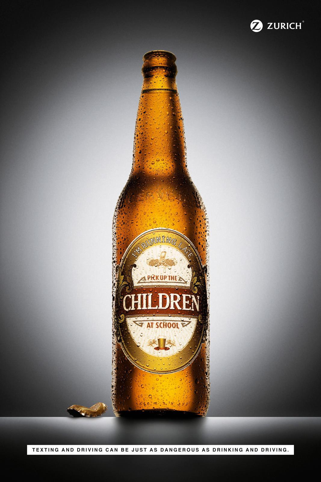 Zurich Print Ad -  Beer