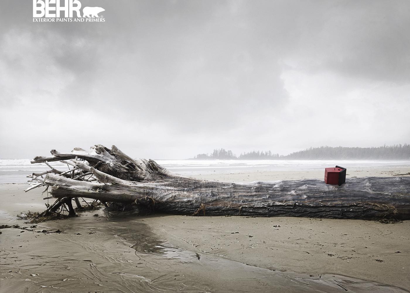 Behr Print Ad   Driftwood