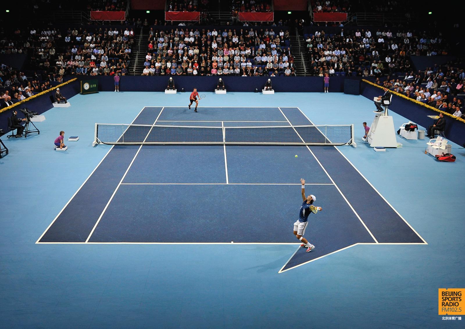 Beijing Sports Radio Print Ad -  Tennis