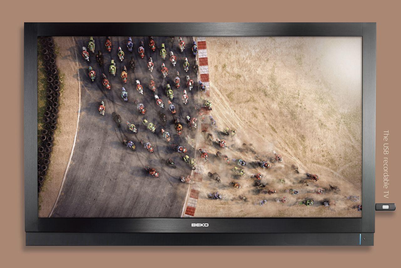 Beko Print Ad -  USB recordable TV, 3