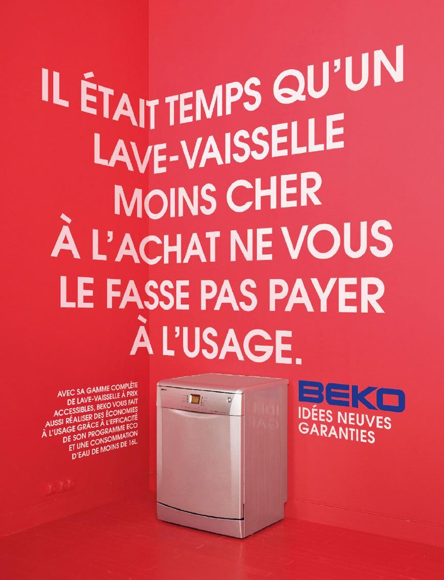 Beko Print Ad -  Dishwasher, 2