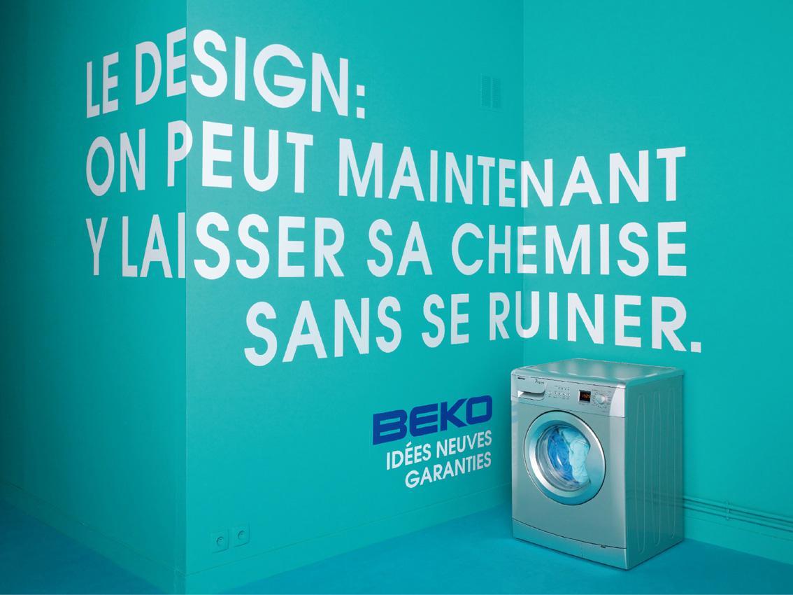 Beko Outdoor Ad -  Washing machine, 1