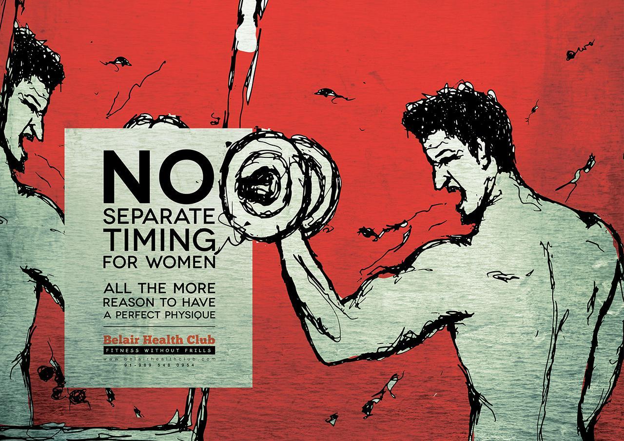 Belair Health Club Print Ad -  Truths, 3