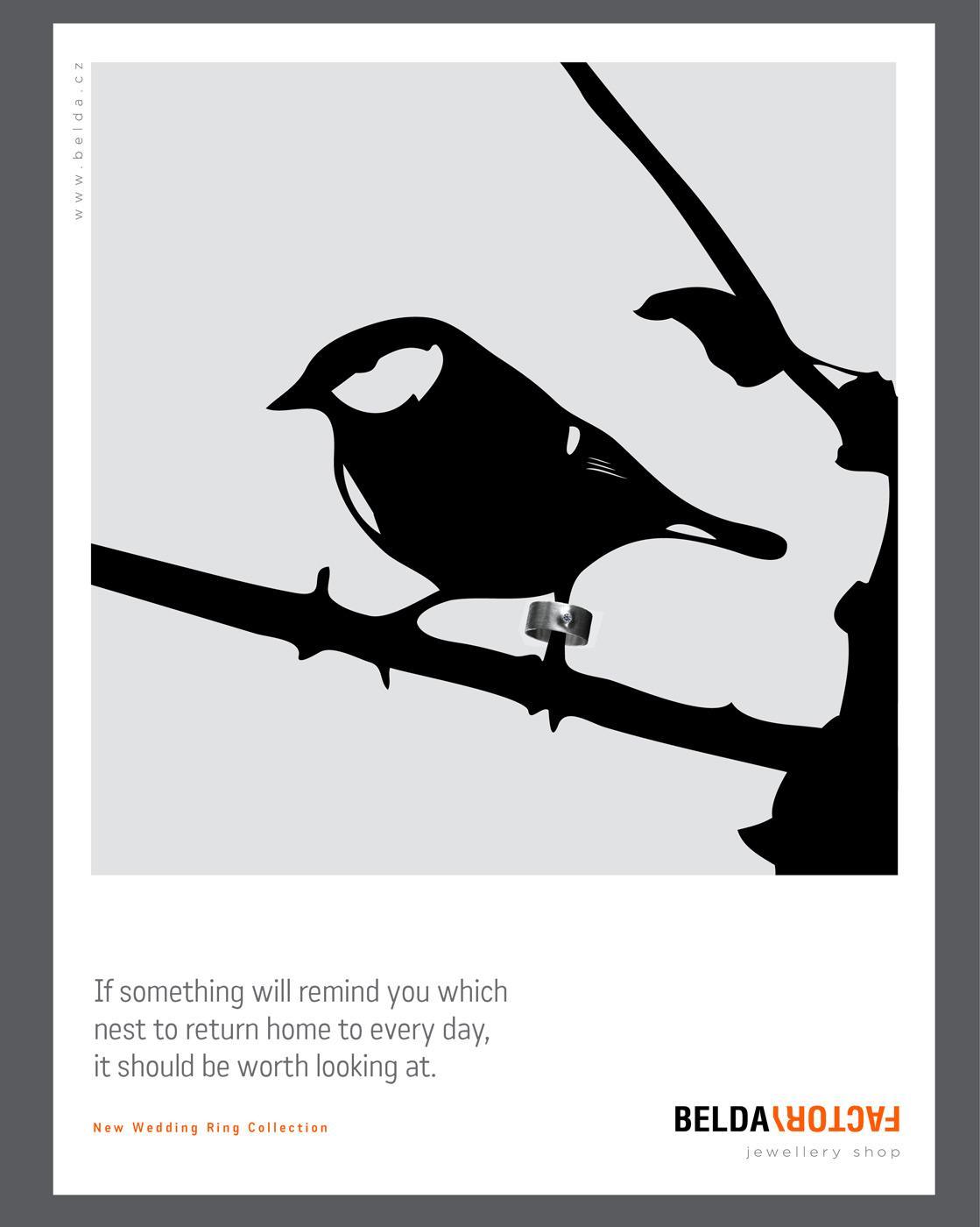 Belda Factory Print Ad -  Bird, 2