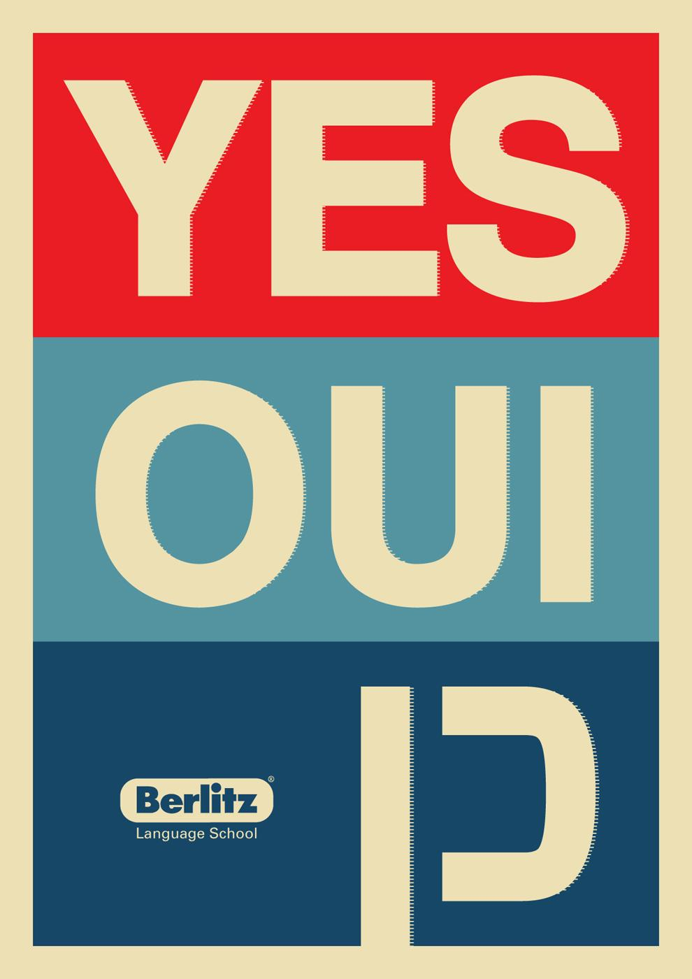 Berlitz Print Ad -  Yes we can