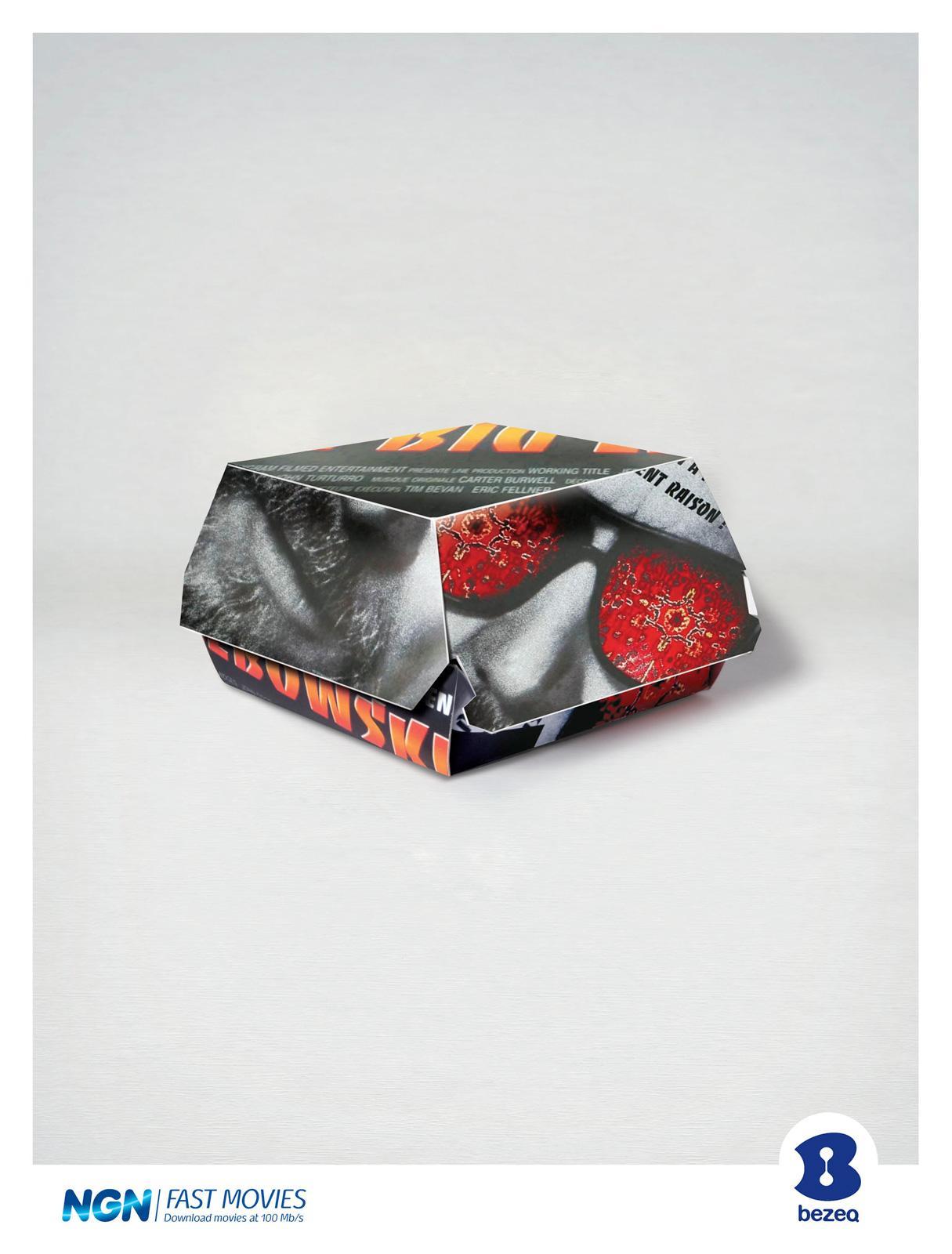 Bezeq Print Ad -  The Big Lebowski