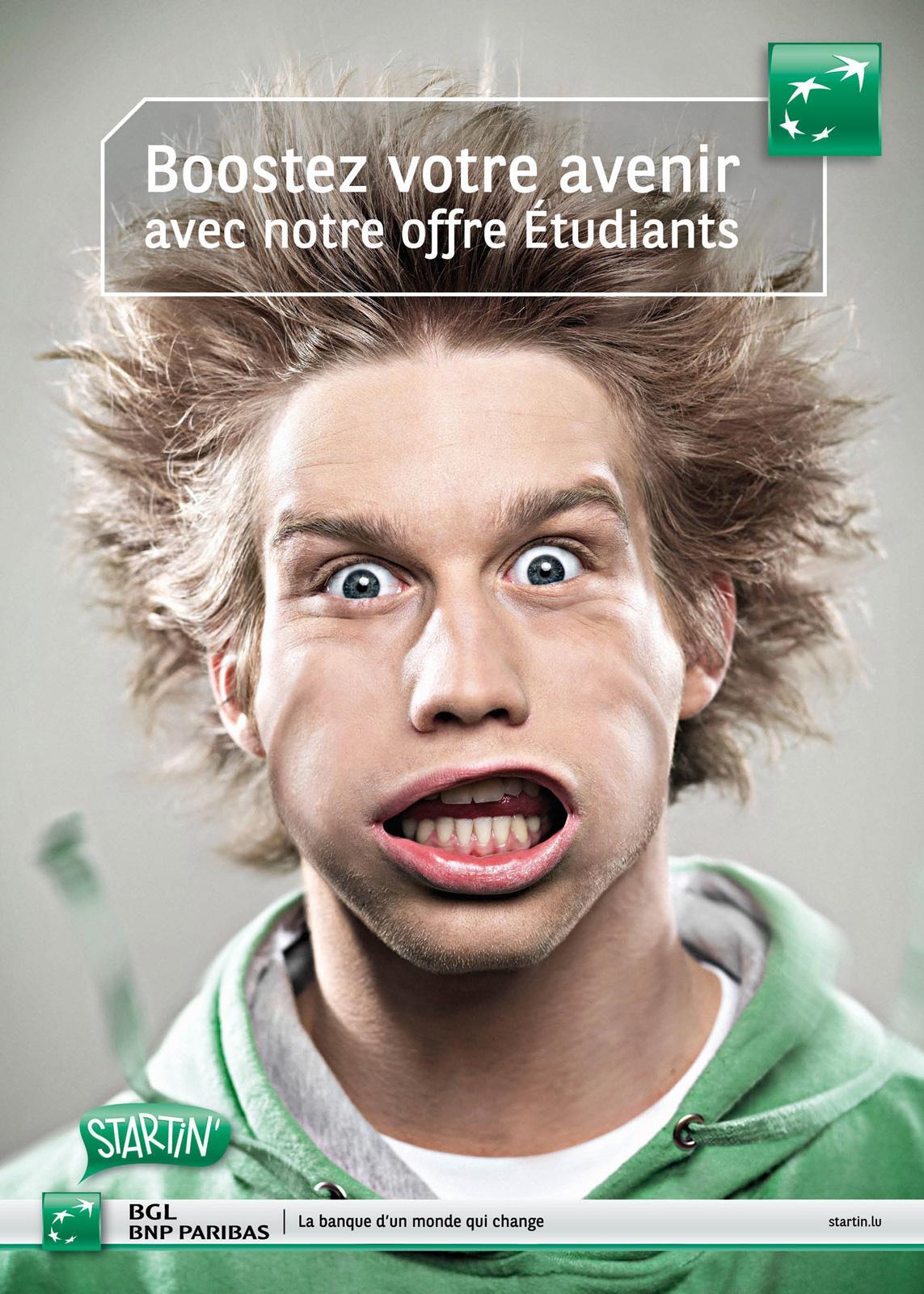 BNP Paribas Print Ad -  Guy