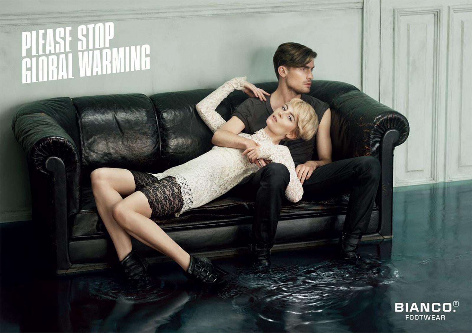 Bianco Print Ad -  Please stop global warming, 3