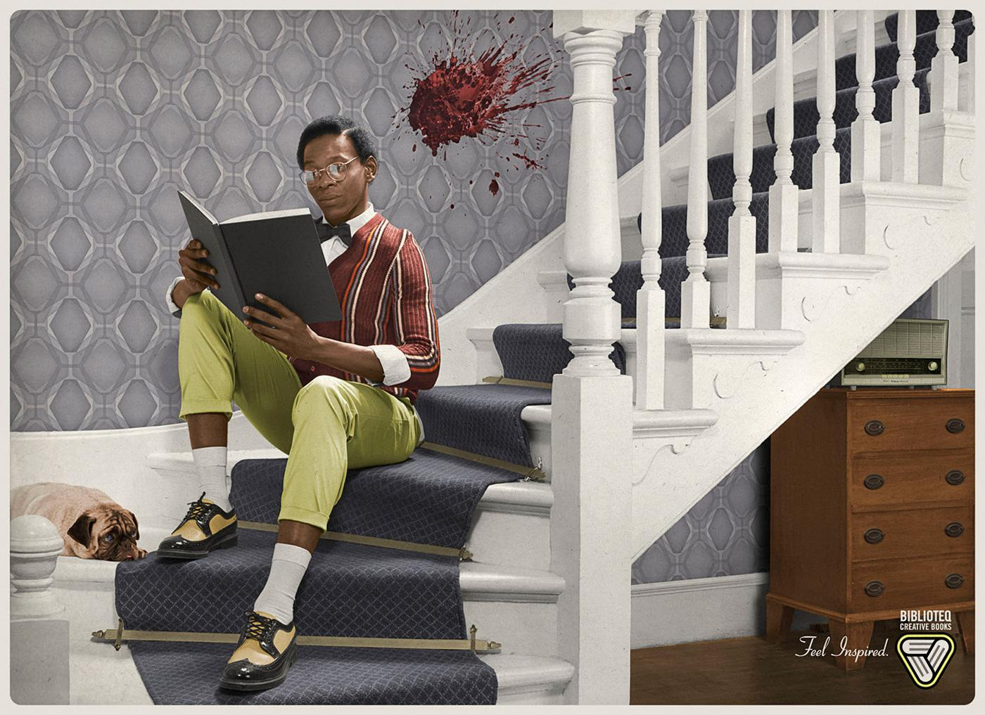 Biblioteq Creative Books Print Ad -  Feel inspired, 1