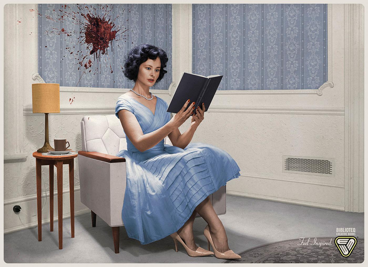Biblioteq Creative Books Print Ad -  Feel inspired, 3