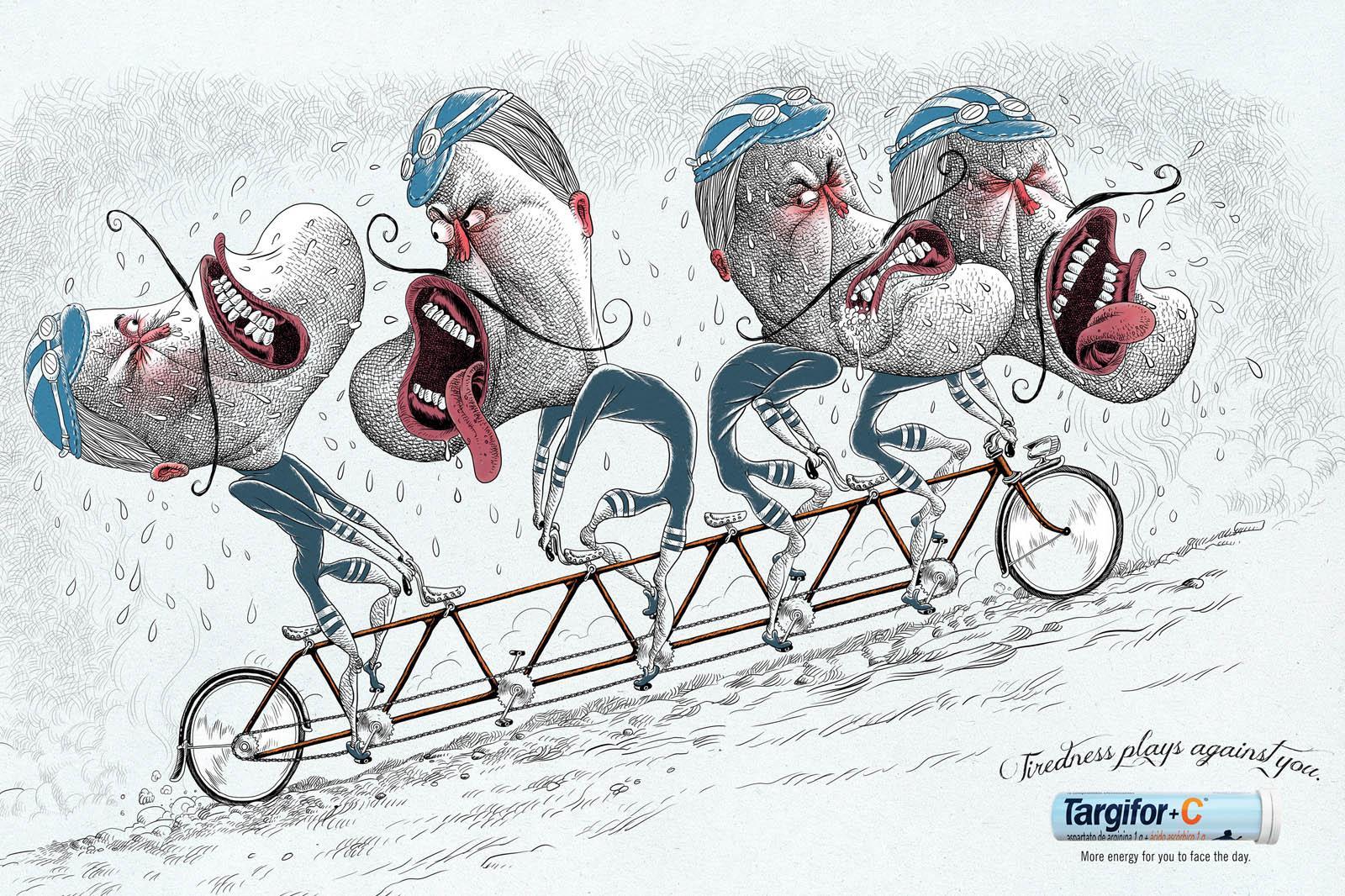 Targifor Print Ad -  Bicycle