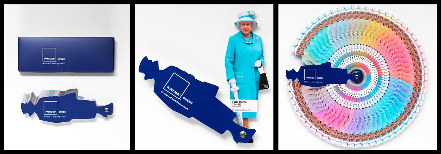 Pantone Direct Ad -  Queen