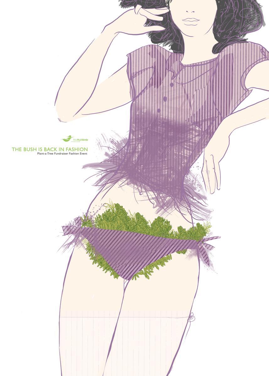 MaiMultVerde Print Ad -  Bikini