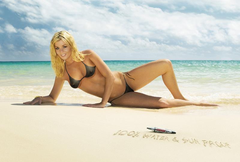 Prockey Pen Print Ad -  Bikini Black