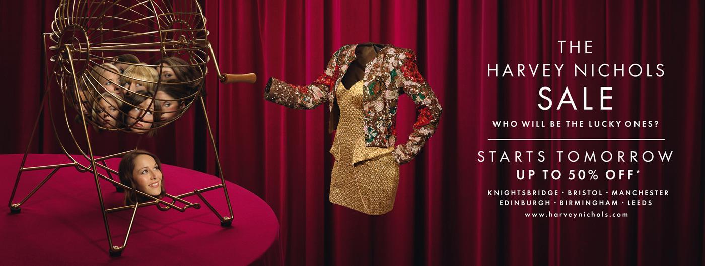 Harvey Nichols Print Ad -  Bingo