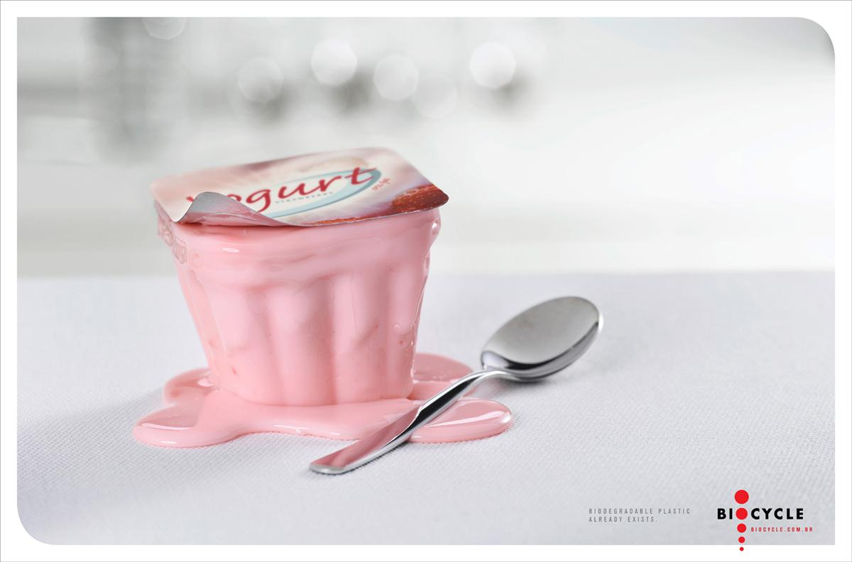 Biocycle Print Ad -  Yogurt