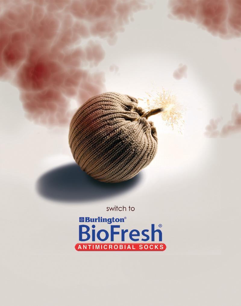 Biofresh Print Ad -  Bomb