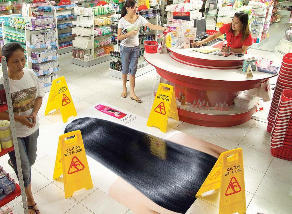 BioLink Ambient Ad -  Wet Floor