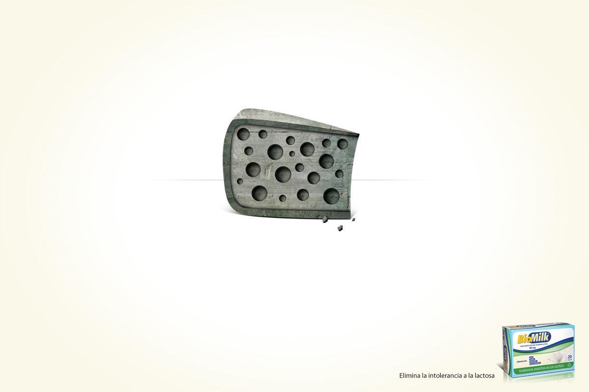 Biomilk Print Ad -  Cheese