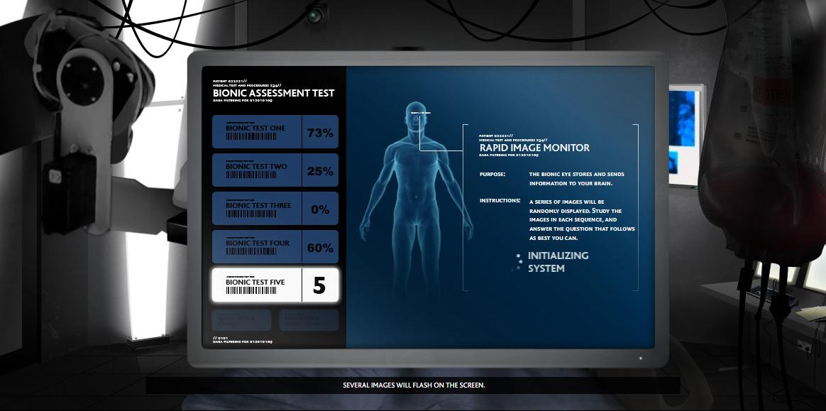 The Bionic Assessment Test