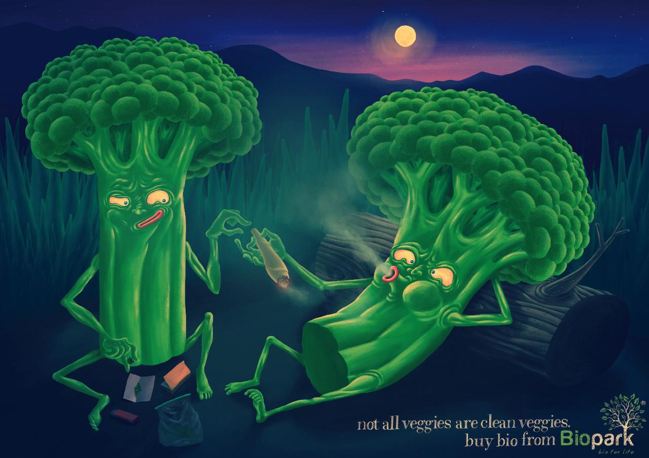 Biopark Print Ad -  Broccoli