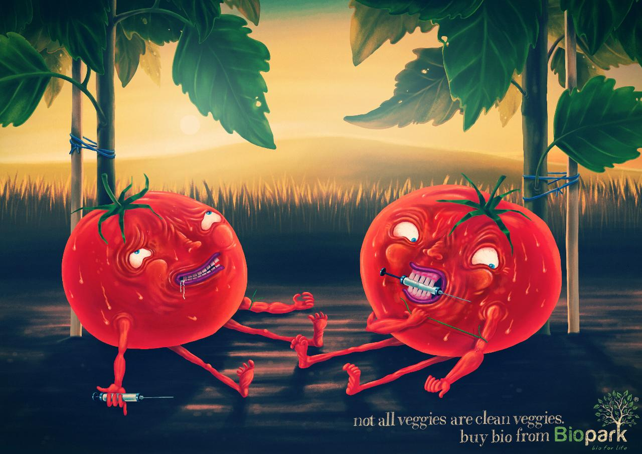 Biopark Print Ad -  Tomatoes